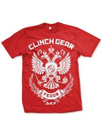 Футболка Clinch Gear Fedor MMA красная