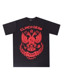 Футболка Clinch Gear Fedor The Last Emperor черно-красная
