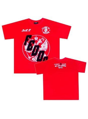 Футболка Clinch Gear Fedor Strikeforce Chicago красная