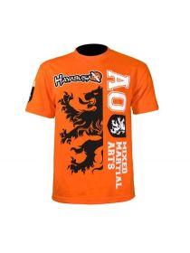 Футболка Hayabusa MMA Overeem 141 оранжевая