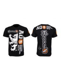 Футболка Hayabusa Overeem UFC 141 черная