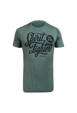 Футболка Hayabusa Classic Spirit of the Fighter зеленая