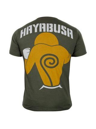 Футболка Hayabusa Forrest Griffin Hall Of Fame зеленая