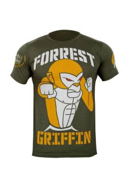 Футболка Hayabusa Forrest Griffin Hall Of Fame зеленая