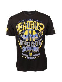 Футболка черная Headrush Anthony Showtime Pettis