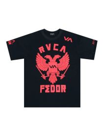 Футболка черная RVCA UFC Fedor