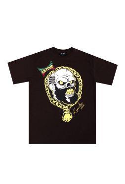 Футболка черная Tapout Kimbo Slice Skull