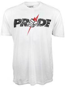 Футболка Pride UFC FC Logo 2.0 белая