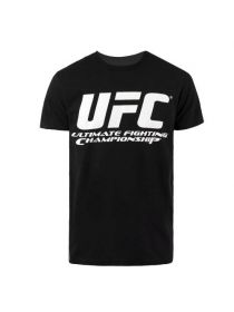 Футболка черная UFC Chrome LOGO