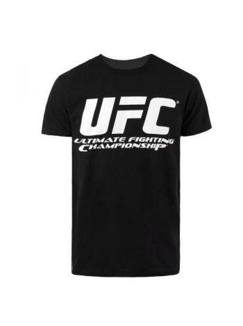 Футболка черная UFC Chrome LOGO