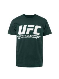 Футболка зеленая UFC Chrome LOGO