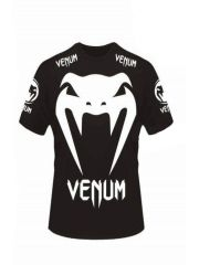 Футболка Venum mma Fight черная