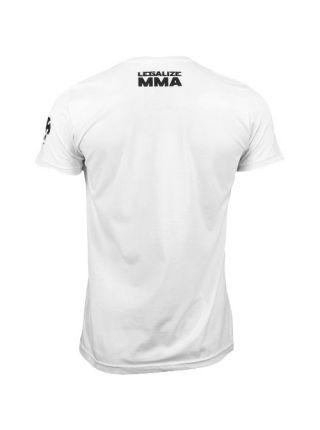 Футболка белая Venum Legalize MMA