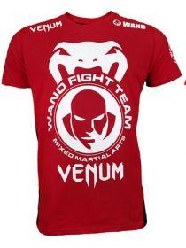 Футболка Venum Wand Team TUF Brazil красно-черная