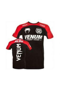 Футболка Venum Aldo Team красно-черная