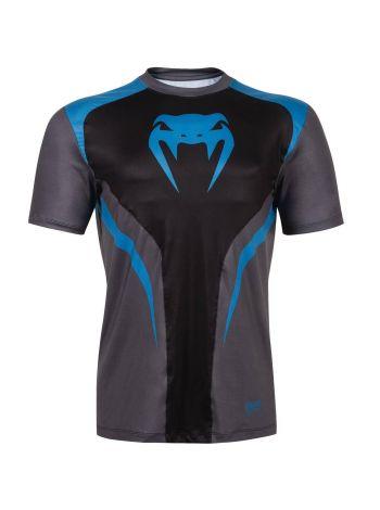 Футболка Venum Predator Dry Tech серо-голубая