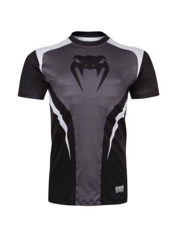 Футболка Venum Predator Dry Tech черно-серая