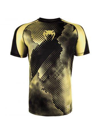 Футболка Venum Technical Dry Tech черно-желтая