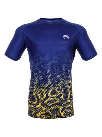Футболка Venum Tropical Dry Tech сине-желтая