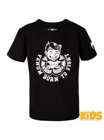 Детская футболка VENUM BORN TO FIGHT черно-белая
