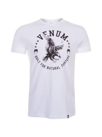 Футболка Venum Natural Fighter Eagle белая