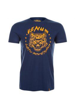 Футболка Venum Natural Fighter Tiger синяя