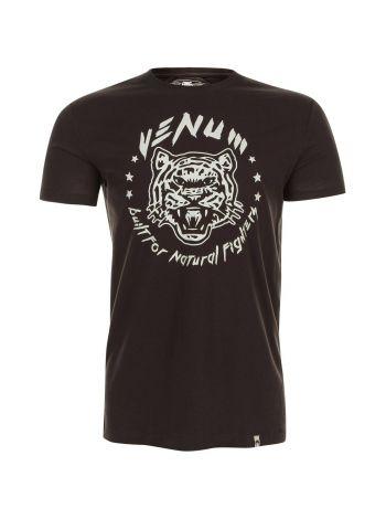 Футболка Venum Natural Fighter Tiger коричневая