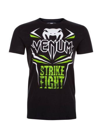 Футболка Venum Strike Fight черная