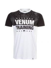 Футболка Venum Training черно-белая