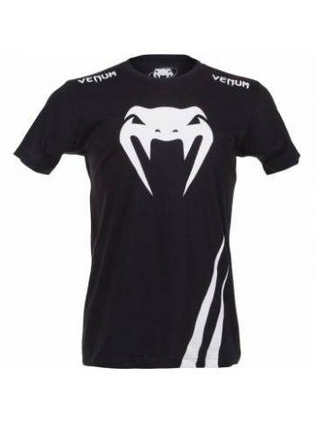 Футболка черно-белая Venum Challenger