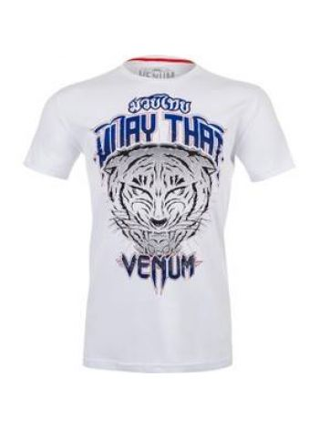 Футболка белая Venum Tiger King