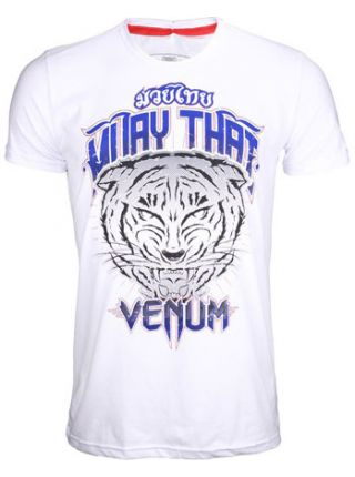 Футболка Venum Tiger белая
