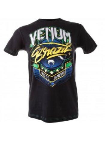 Футболка Venum Brazil черная