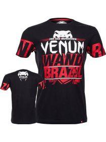 Футболка Venum Wand's CONFLICT MMA черная