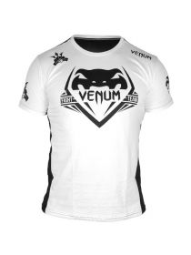 Футболка Venum Shogun Team Shockwave черно-белая