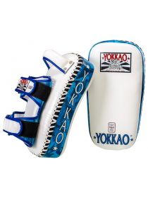 Тайские пады Yokkao Curved Blue ARMY