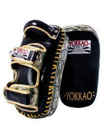 Тайские пады Yokkao Curved Green ARMY