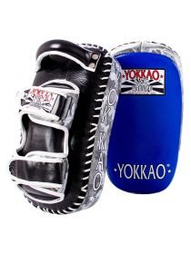 Тайские пады Yokkao Curved Grey ARMY синие