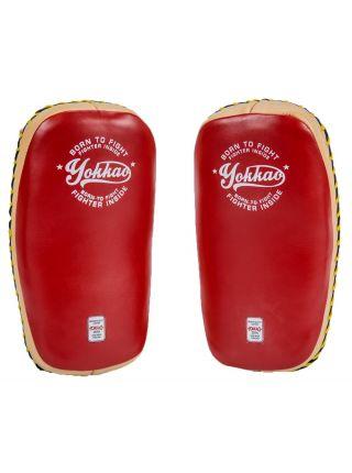 Тайские пады Yokkao Vintage Free Style красные