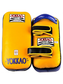 Тайские пады Yokkao Traditional желто-синие