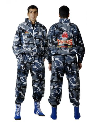 Костюм спортивный TWINS TKS-5 синий камуфляж