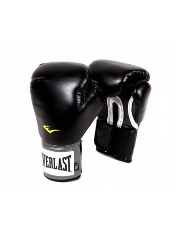 Боксерские перчатки Everlast PU PRO черные