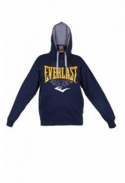 Толстовка Everlast Mens Oth Hoody синяя с капюшоном