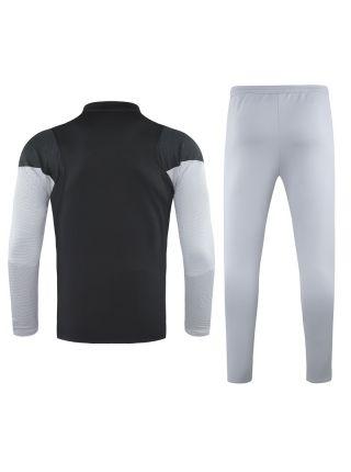 Спортивный костюм черно-серый Атлетико Мадрид