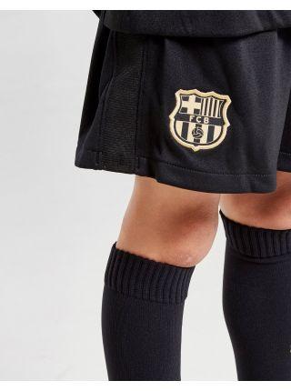 Футбольная форма детская гостевая Барселона 2020-2021