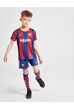 Футбольная форма детская домашняя Барселона 2020-2021