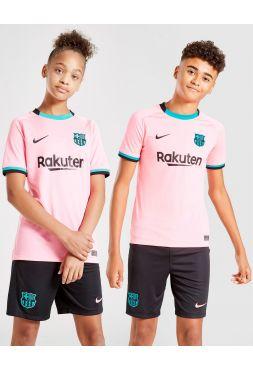 Футбольная форма детская резервная Барселона 2020-2021
