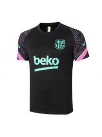 Мужская спортивная футболка черная ФК Барселона