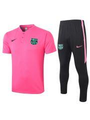 Мужской тренировочный костюм розово-черный ФК Барселона