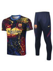 Мужской тренировочный костюм разноцветный ФК Барселона